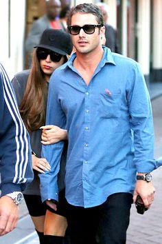 Touchy Twosome: Lady Gaga & boyfriend, Taylor Kinney