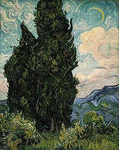 Cypresses, 1889  Vincent van Gogh (Dutch, 1853–1890)