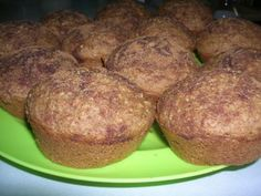 Applesauce Oatmeal Muffins Recipe