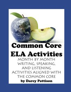 Common Core ELA Activities Book | Common Core Standards