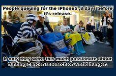 Blind consumerism