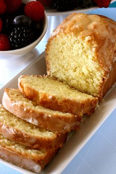 Pound Cake via Alton Brown