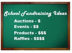 Fundraising Ideas For School Fundraisers - Some great fundraising ideas for school fundraisers that consistently produce excellent results. Includes articles on cheerleader fundraisers, event ideas, high school football fundraiser ideas, soccer and band fund-raisers, car washes, plus more great ideas for other school-related groups.