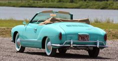 Uses the same rugged air-cooled engine as the Beetle, the 1964 VW Karmann Ghia…