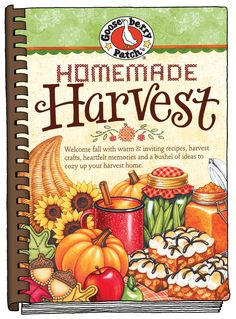Homemade Harvest Cookbook now available as an eBook