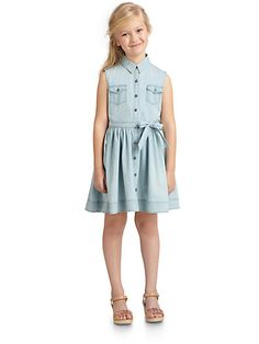 DKNY - Girls Leslie Dress - Saks.com