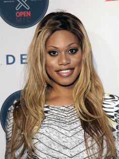 Laverne Cox attends the Delta Open Mic With Serena Williams event at Arena in New York on Aug. 20, 2014