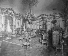 Cornelius Vanderbilt II's mansion in New York City. The grand salon was Mrs. Vanderbilt's favorite room in the entire house.