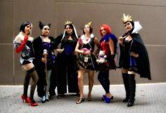 Disney Villains Female Group Costume for Halloween