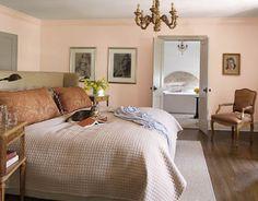 Pink blush bedroom