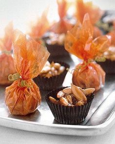 Pumpkin-Seed Candy Recipe party favors, halloween recipe, new recipes, pumpkinse candi, seed, candies, halloween treats, candy recipes, health foods