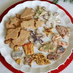 Recipe: Whole-Wheat Christmas Cookies (with sugar!)