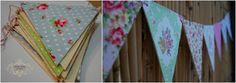 בעיקר מנגרת - רויטל וייס fabric flags Chain without sewing