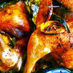 A quick and delicious weekday meal ! roast-chicken-with-sage-and-caramelised-oranges