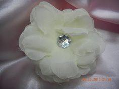 Homemade silk flower