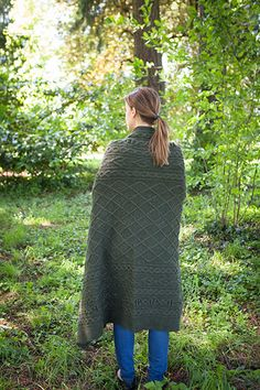 Reilly Afghan Pattern - Knitting Patterns and Crochet Patterns from KnitPicks.com