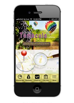 """The new Temecula California mobile app. Search """"citybyapp"""" or """"Temecula"""" in the App Store or Google Play store. It's free!"""