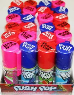 Push Pop Candy by Topps 24 0 5 oz Pops   eBay