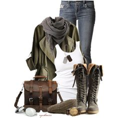 """Early Spring Weather"" by cynthia335 on Polyvore  #abbigliamento"