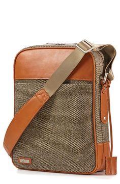 'Tweed Belting' Crossbody Bag / Hartman