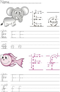 Free Writing Worksheets for #Preschool and #Kindergarten.  #abc