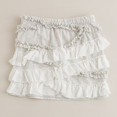DIY ruffle skirt