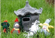 WHIMSICAL CASTLE BAG by Elizabeth Mareno  free pattern