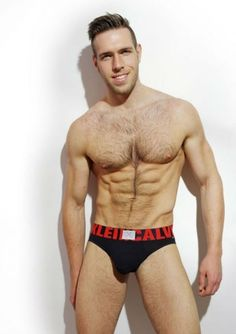 Alex Mecum Hairy Chest by Jin Wang