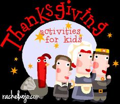 a roundup of 16 Thanksgiving activities for children
