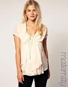ASOS maternity blouse #fashion