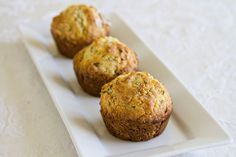 Flax seed & honey muffins