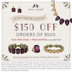 $50 off $200, or $15