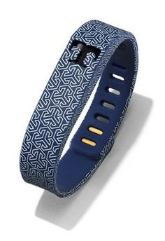 tory-burch-fitbit-silicone-wristband-navy