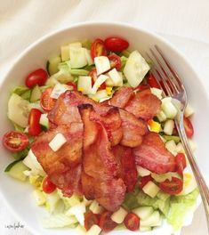 Bacon Cobb Salad