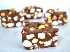 10-Minute Rocky Road Fudge