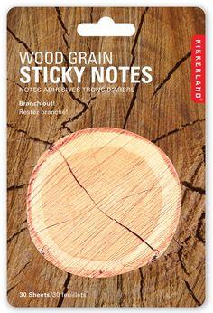 Notes autocollantes Tronc d'arbre