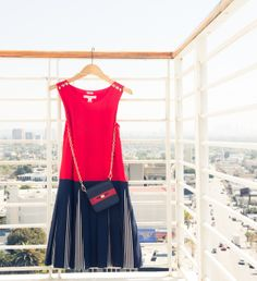 Nothing like a little red, white & blue. @Tommy ☺ Hilfiger #ToTommyfromZooey