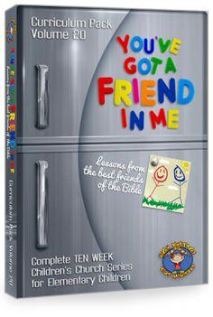 """Curriculum Pack Vol. 20: """"YOU'VE GOT A FRIEND IN ME"""""""