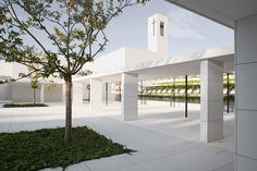 elsa urquijo architects crafts padre rubinos church in northern spain