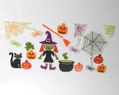 GelWonder | Window Clings | Set of Halloween Window Clings | homeArama Ltd