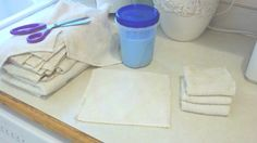 make your own dryer sheets (: