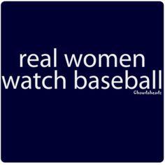 real women watch baseball