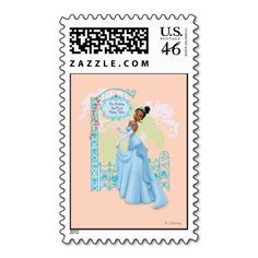Tiana - Im Making My Own Fairy Tales Stamps