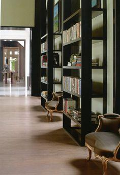 Christian Liaigre bookshelves