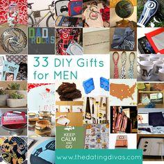 man gift, crafti, gift ideas, diy gifts, uniqu diy