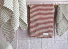 Linen towels made in