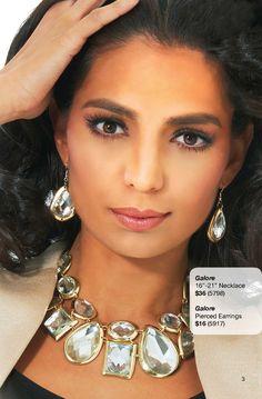 Galore Earrings & Necklace by Traci Lynn Fashion Jewelry  www.tracilynnjewelry.net/pamelagibbs