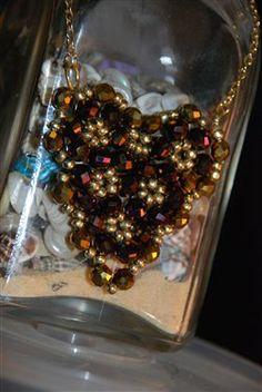 Beaded Heart Necklace - Beading Daily