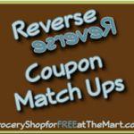 5/18 Reverse Coupon Matchups!