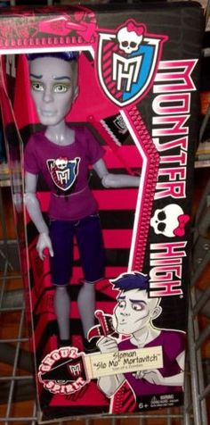 Monster High Sloman Slo Mo Ghoul Spirit IN HAND